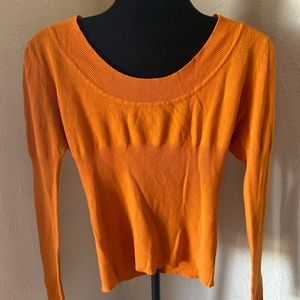 Say What Orange blouse style top